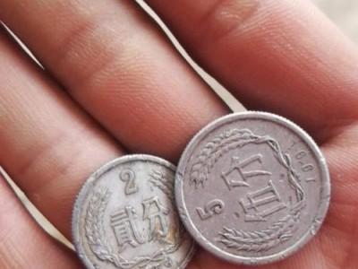 求购一分1957年硬币